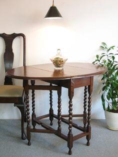 【アンティーク 古道具 JIKOH】アンティーク ヴィンテージ イギリス製ゲートレッグテーブル/バタフライ/ダイニング ロイズ【楽天市場】美しいツイストです