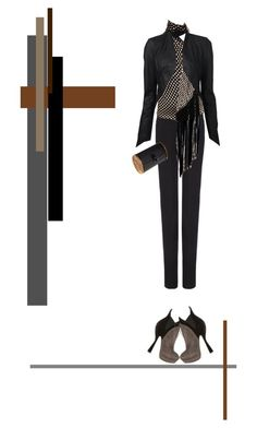 """""""Chop-Crop"""" by nino-d-f ❤ liked on Polyvore featuring Joseph, Alexander McQueen, ISABEL BENENATO, Edie Parker, Alaïa, women's clothing, women's fashion, women, female and woman"""