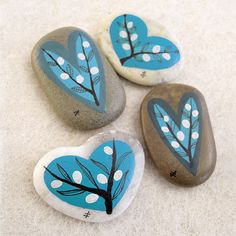Painted Rocks Zeustones Etsy