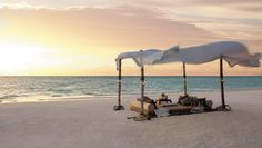 Shangri-La Villingili Resort: Romance abounds here, but the resort is also fit for families.