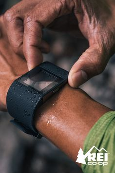 The Fitbit Surge might look like a designer watch, but this super-charged tracker with GPS and heart rate monitor tracks sleep and fitness stats while controlling your tunes. Shop now at REI.com.