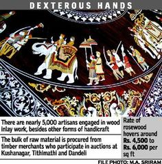 Wood inlay art faces a bleak future - Rising costs and dwindling interest in craft worry artisans #handicraft
