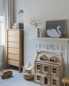 Simple kids room inspiration