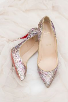 3d4ddd36107 Luxurious Garden Wedding Ideas for the Modern Couple. Pink Wedding  ShoesSparkly ...