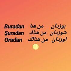 Learn Turkish Language, Arabic Language, Old Egypt, English Language Learning, Words, Turkey, English People, Learning, Reading