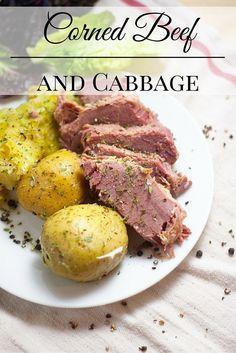... corned beef, Creamy horseradish sauce and Horseradish sauce on