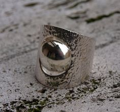 Le Metissage | Silver ring with round