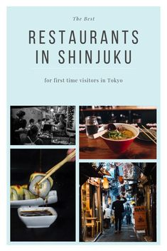 Check out these recommendations for best restaurants in Shinjuku for first-time visitors to enjoy only-in-Japan dining experiences. If you are curious to find out where to eat in Shinjuku, then read on!  #Tokyo #EatingOutInJapan #JapaneseRestaurants #Restaurants #Shinjuku #TokyoRestaurants #Sushi #Izakaya #BestJapaneseRestautants #FunInTokyo  where to eat in Tokyo | Eating out in Tokyo | Japanese Restautants | Things to do in Tokyo | Fun night out in Tokyo | What to do in Tokyo