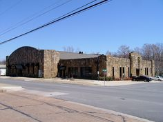 Armory (Tahlequah, Oklahoma).  I NEVER learned to skate here when it was a skating rink!