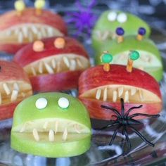 Easy cute and fun halloween party foods