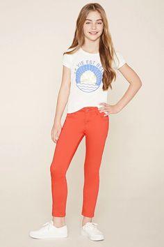 Girls Ankle Jeans (Kids) #f21kids