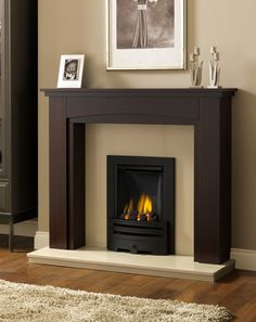 Beautify Your Living Room with Modern Fireplace Surrounds Ideas: Modern Fireplace Surrounds Ideas | Smokeless Fireplace | Electric Fireplaces Inserts