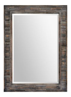 The beautiful Liuhana Mirror from Ren-Wil is formed with panels of wood in a distressed dark finish. Its rustic yet elegant look adds warm and charming style to any décor. Wood Framed Mirror, Framed Artwork, Farmhouse Style Decorating, Art Of Living, Home Decor Outlet, Rustic Farmhouse, Rustic Chic, Rustic Decor, Mirrors