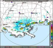 Two collections of strong thunderstorms, both accompanied by winds gusting up to 50 mph, are threateningSt. Charles, northern Jefferson and St. Tammany parishes on Tuesday afternoon (June 23), according tospecial weather statements from the National Weather Service. The northern line...