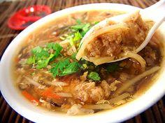 台中小吃美食‧世交肉焿 From大台灣旅遊網