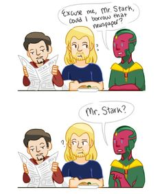 Thor and Vision 1/2