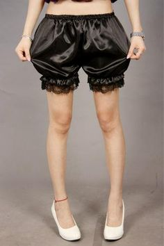 1 piece 2018 Fashion Women shorts lace decoration pumpkin woman sleepwear pajama bloomers white black red new Spring Shorts Outfits, Shorts Outfits Women, Short Outfits, Gym Shorts Womens, Fashion 2017, Womens Fashion, Pants For Women, Clothes For Women, Girls Pants