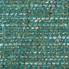 Teal/Moss Wool Blended Tweed Coating Fabric by the Yard | Mood Fabrics
