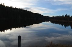 Alberta skies & dusk stillness