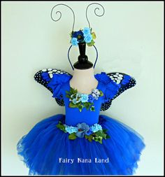 Monarch Butterfly Fairy Costume - fits chilren's sizes 4 to 6 - Halloween - Flower Girl - Birthday Tulle Costumes, Costume Dress, Halloween Costumes, Butterfly Costume, Butterfly Fairy, Monarch Butterfly, Munchkin Costume, Fairy Birthday Party, Girl Birthday