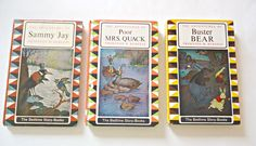3 Thornton Burgess Childrens Books  The Adventures of Buster Bear The Adventures of Sammy Jay The Adventures of Poor Mrs. Quack  1960's by TreasureCoveAlly on Etsy