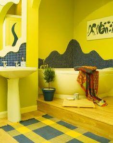 Pretty fancy bathroom fan light exclusive on alexadecor home decor Bathroom Decor Pictures, Yellow Bathroom Decor, Yellow Bathrooms, Bathroom Wall Decor, Bathroom Colors, Bathroom Ideas, Bathroom Designs, Bathroom Inspo, Bathroom Modern