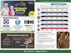 Diseño del Miércoles Santo para el itinerario de Semana Santa 2015 en Jerez de la Frontera.