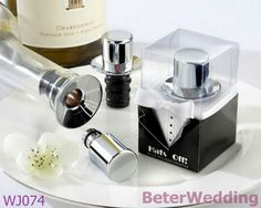 Aliexpress.com : Buy Wedding decoration wholesale WJ074 Hats Off! Chrome Top Hat Wine Pourer/Bottle Stopper from Reliable wedding Decoration suppliers on Your Unique Wedding Favors $200.00