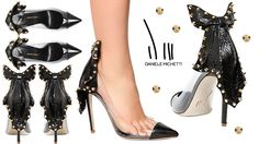 Daniele Michetti Thali PVC, Leather and Snakeskin Pumps - Buy Online - Designer Pumps