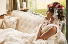 Vestido de Novia María Picaretta Wedding Dresses, Fashion, Models, Godmother Dress, Communion Dresses, Boyfriends, Bride Gowns, Wedding Gowns, Moda