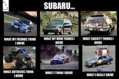 Subaru, car meme, car humor
