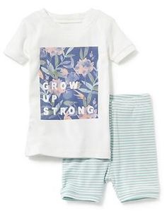 Floral Graphic Sleep Set | Old Navy