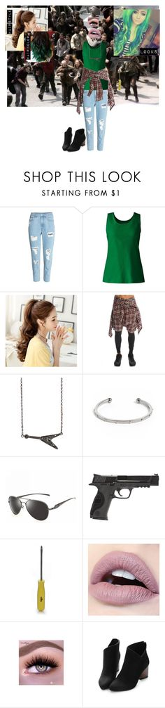 """""""In the end, as we fade into the night. Who will tell the story of your life?"""" by panic-at-the-walking-jonbenet3 ❤ liked on Polyvore featuring Lands' End, R13, Zadig & Voltaire, South Moon Under and Smith & Wesson"""