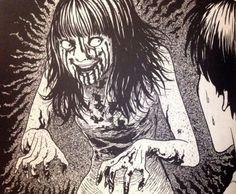 伊藤潤二『幽霊になりたくない』より