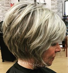 Shaggy Medium Length Bob - 60 Messy Bob Hairstyles for Your Trendy Casual Looks - The Trending Hairstyle Over 60 Hairstyles, Messy Bob Hairstyles, Older Women Hairstyles, Pixie Haircuts, Wedding Hairstyles, Haircuts For Over 60, Short Hair Over 60, Short Hair With Layers, Short Hair Cuts For Women