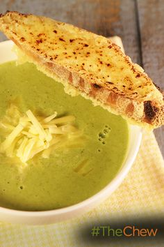 Wolfgang Puck shares his delicious Broccoli Cheddar Soup recipe from www.WolfgangPuckCookingSchool.com!