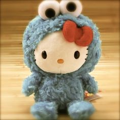 Cookie Monster Kitty