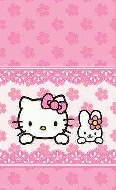 ♚◊ Hello Kitty by Sanrio♥ ◊♚ cute . Hello Kitty Gifts, Hello Kitty Themes, Hello Kitty Birthday, Sanrio Hello Kitty, Wallpaper Wa, Sanrio Wallpaper, Wallpaper Gallery, Hello Kitty Wallpaper Free, Hello Kitty Backgrounds
