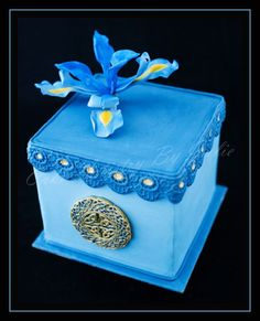 cake artistry | Cake Artistry by Julie blue cake