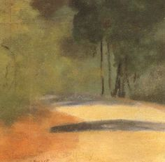 Clarice Beckett was an Australian Tonalist painter whose works are featured in the collections of the National Gallery of Australia, National Gallery of Victoria and the Art Gallery of South Australia. Oil Painting Pictures, Painting Gallery, Art Gallery, Australian Painting, Australian Artists, Painted Picture Frames, Oil Painting Reproductions, Land Art, Whimsical Art