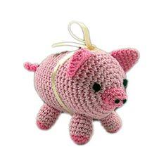 Piggy Boo Organic Cotton Dog Toy