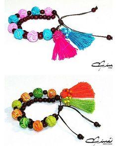 Colores nuevos!!! :-) New color palettes!! :-) #UnicaConNinaStudio #PolymerClayArt #PolymerClayJewelry #amazingaccesories #bisuteria #moda #fashion #outfit #jewerly #cutie #girl #shopping #lifestyle #instastyle #instaglam #DiseñoDeAccesorios #design #glam | by María Eva Ramos - Niná Studio