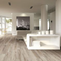 Parkettimitat-Fliese / für Innenbereich / für Fußboden / Feinsteinzeug SHERWOOD BRENNERO Flooring, Decor, Deck Decorating, Interior Design, House, Home, Interior, Chalet Style, Home Decor
