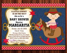 western baby shower invitation cowboy baby shower western shower
