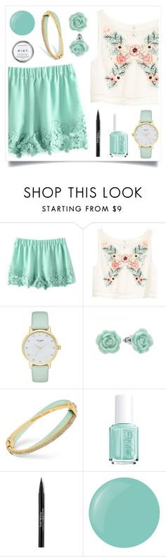 """Could Use It"" by racanoki ❤ liked on Polyvore featuring H&M, Kate Spade, LC Lauren Conrad, Michael Kors, Essie, Trish McEvoy, Herbivore, contestentry and RaCaNoKi"