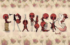 Deadpool FRANCIS print by ApocalyssArt on Etsy