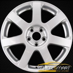 Volkswagen VW Jetta oem wheel for sale. Silver stock rim 69776 with mm bolt pattern. VW part # Volkswagen, Vw Parts, Oem Wheels, Wheels For Sale, Store, Car, Silver, Image, Tent