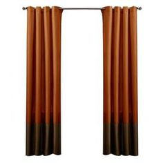 104 Best Curtains Red And Orange Images Curtain Panels