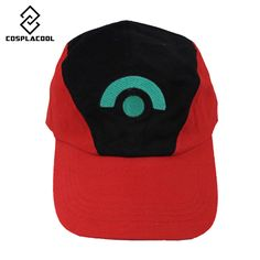 [COSPLACOOL] Little hat baseball cap POKEMON anime who pocket monster fans cartoon hat