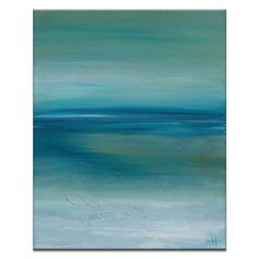 Found it at Wayfair - Out to Sea by Karen Hopkins Framed Painting Print on Wrapped Canvas